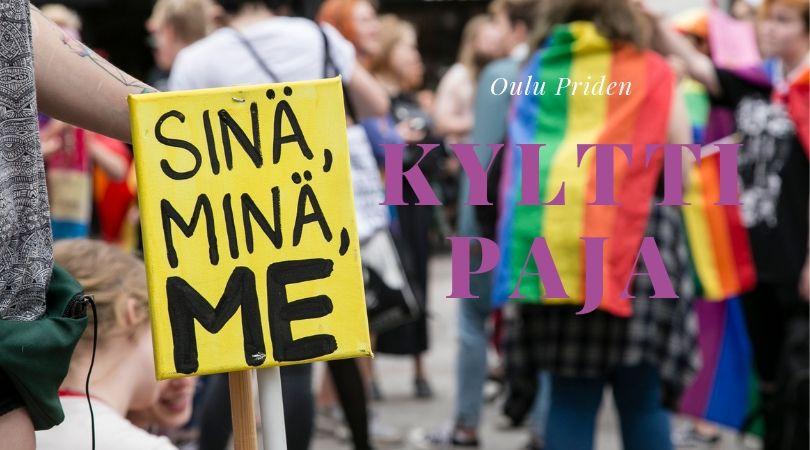 Oulu Priden Kylttipaja.