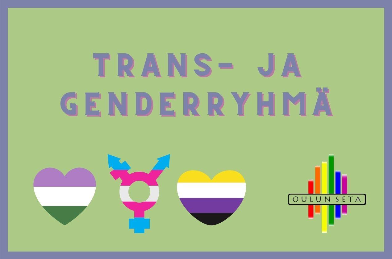 Trans- ja Genderryhmä - Oulun Seta