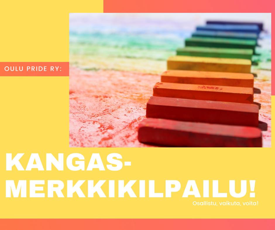 Oulu Pride ry: Kangasmerkkikilpailu